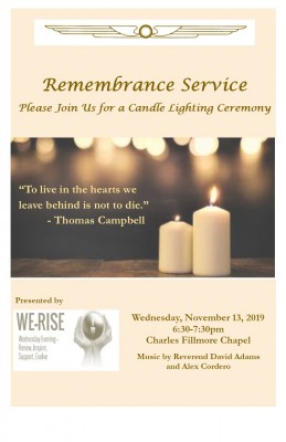 Remembrance Service 2019 for web