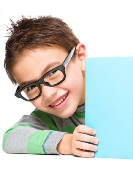 Boy with Book feature