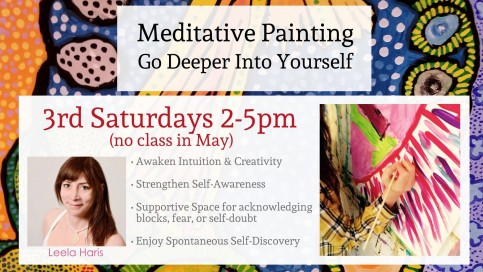Meditative Painting Digital Board